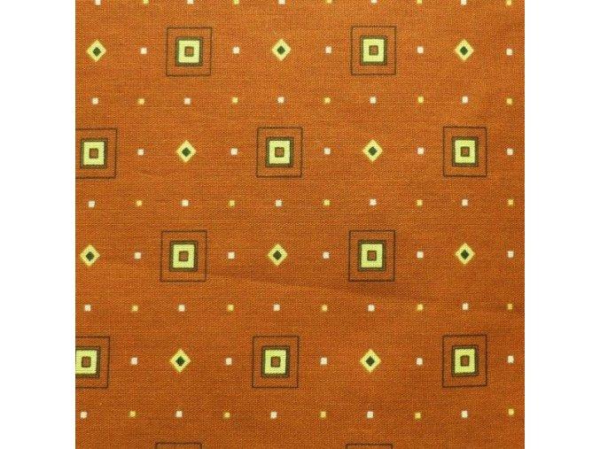 HETRA 115 (Trenkovina 212002-3-1 Kostka hnědá)-150cm
