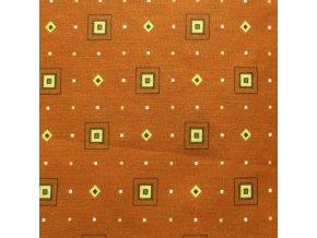HETRA 115 (Trenkovina 212002-3-1 Kostka hnědá)-150cm (množství od od 4 metrů na míru (SLEVA 14% pří odvíjení nad 15m))