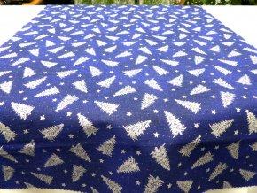 Stříbrný strom modrý 1