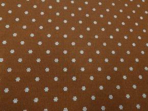 HERA 120 (214058-1-5 Květy hnědé, Ranforce)-142cm