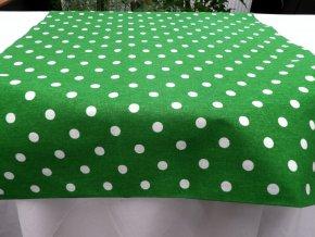 HABINA 120 (H212769 1 Puntíky bílo zelené) 1