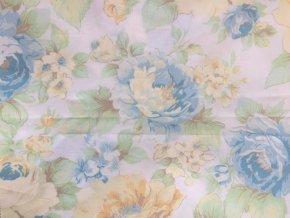 KREP 115/9100-2 modrý květ 210cm