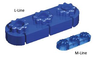 L Line - větší dílky