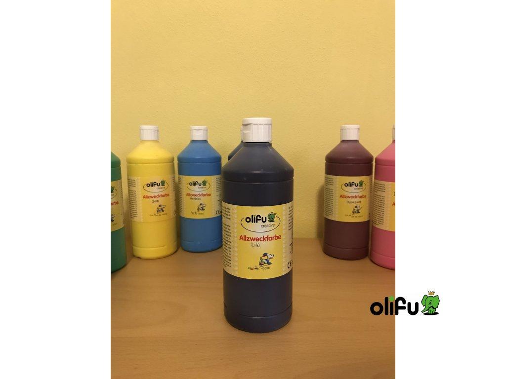 Barva multifunkční 1000 ml - fialová