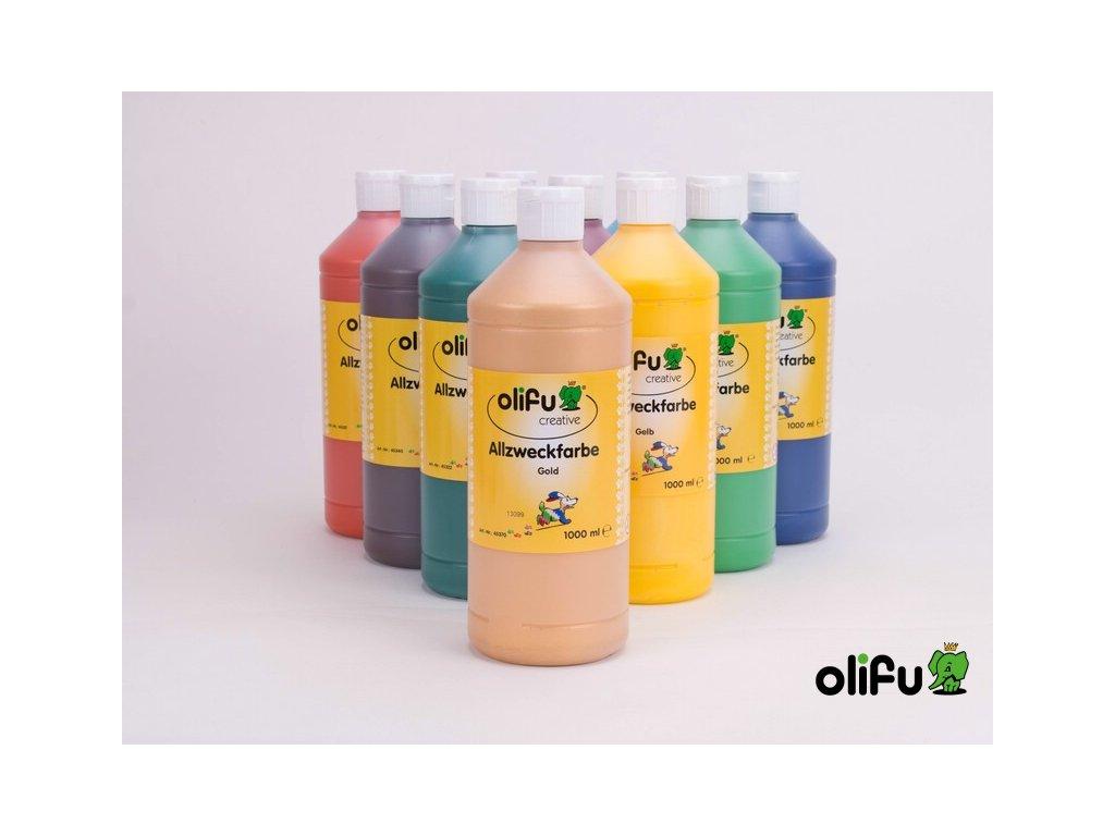 Olifu zlátá barva