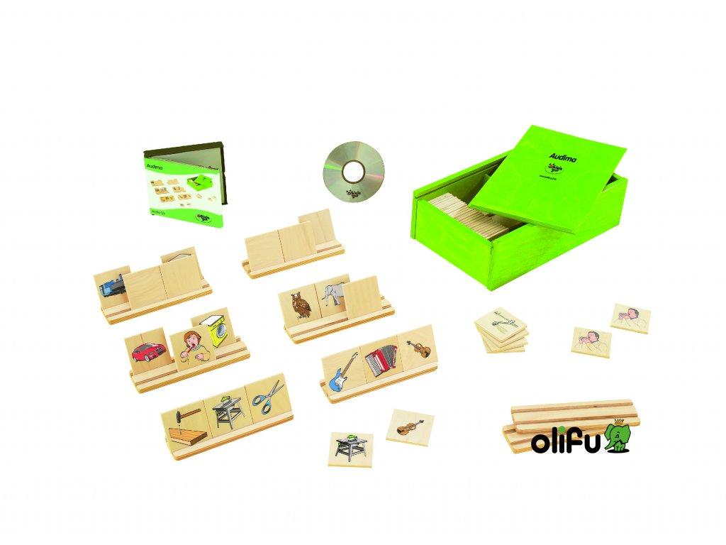 Audima - poslechová hra vyvinutá ve spolupráci s logopedy