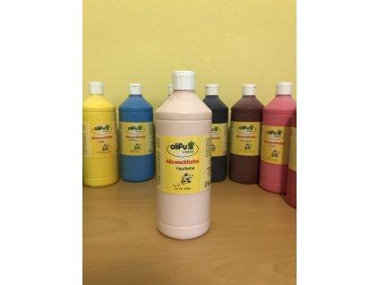 Barva multifunkční 1000 ml - barva kůže
