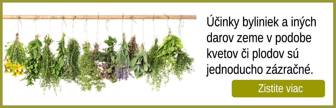 Účinky byliniek