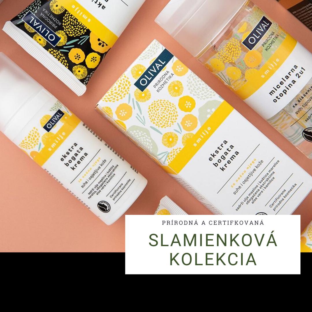 Prírodná certifikovaná slamienková kozmetika