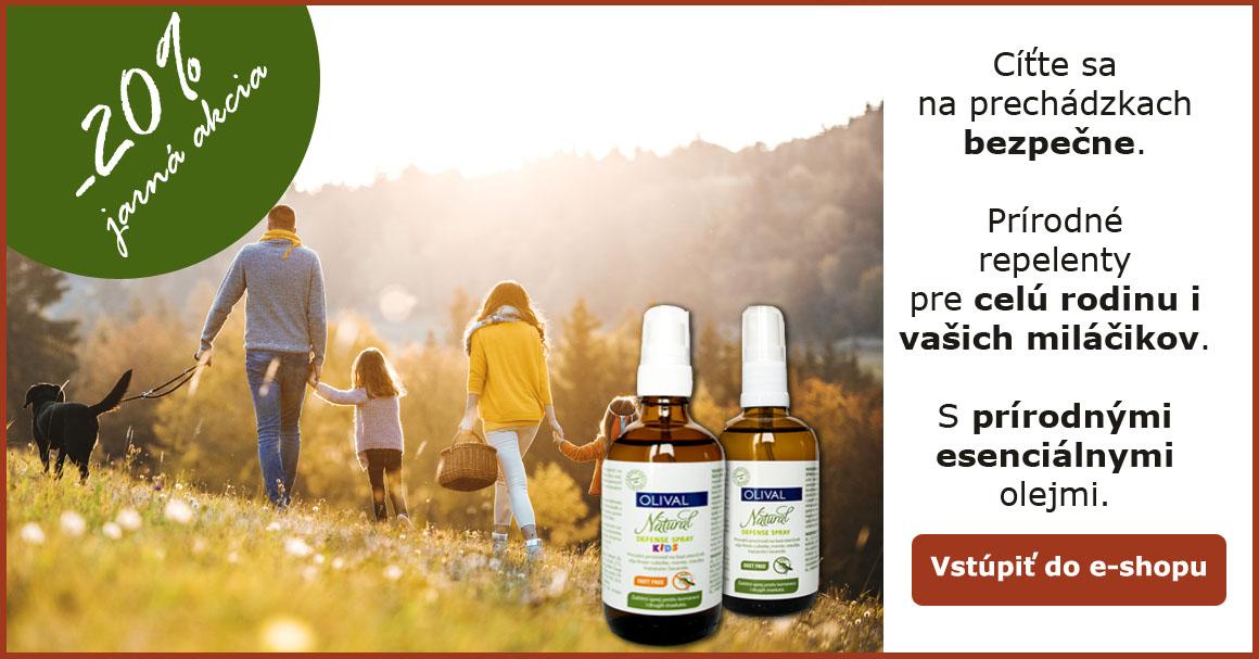 Prírodné repelenty pre deti i dospelých