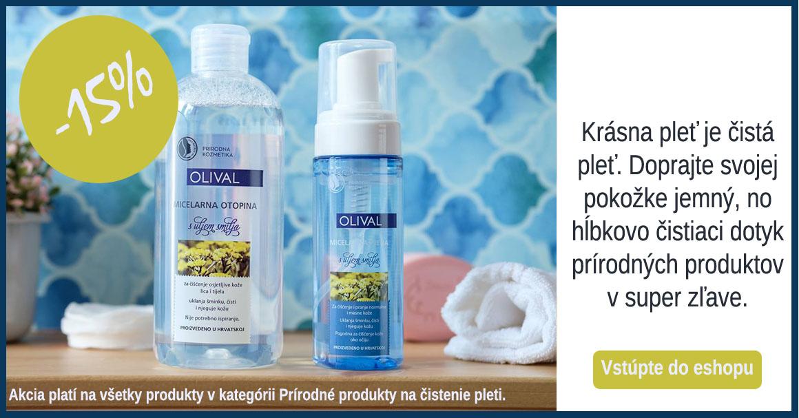 Prírodné produkty na čistenie pleti za skvelú cenu
