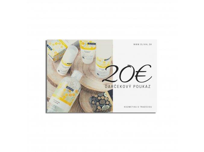 Olival darčeková poukážka 20€ (2)