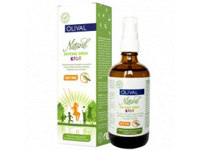 natural defence spray kutija i boca KIDS L large