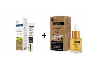 akcia 1+1+2 slamienkove hyaluronove serum a zlaty slamienkovy olej