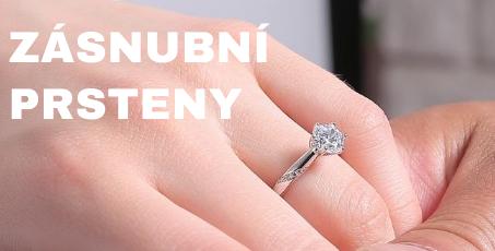 Zásnubní prsteny ze stříbra