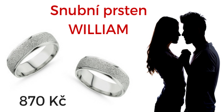 Snubní prsten WILLIAM