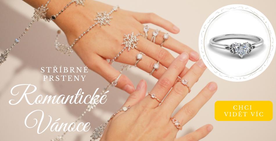 Stříbrné prsteny