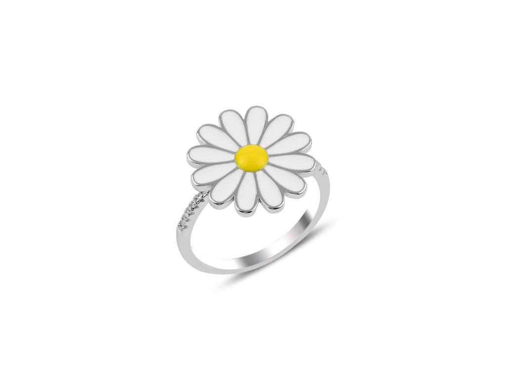 Stříbrný prsten KOPRETINA