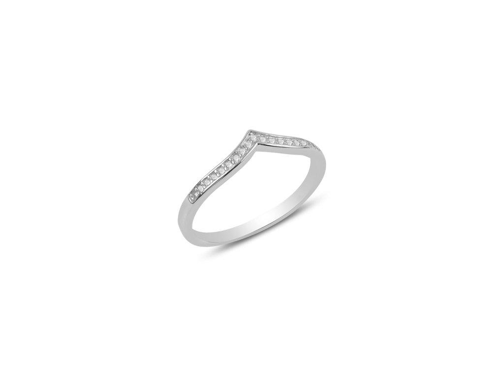 Stříbrný prsten ŠIPKA