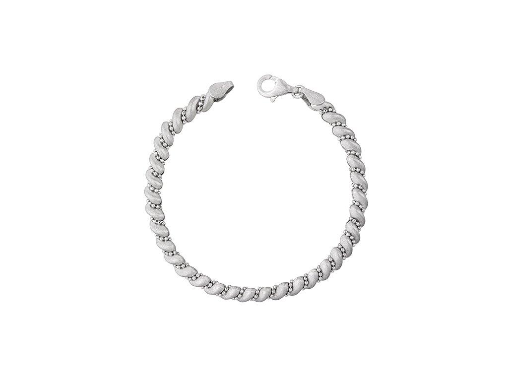 LUXUSNÍ stříbrný náramek, nádherný dárek pro ženu, manželku partnerku. Dárek k Vánocům, narozeninám.