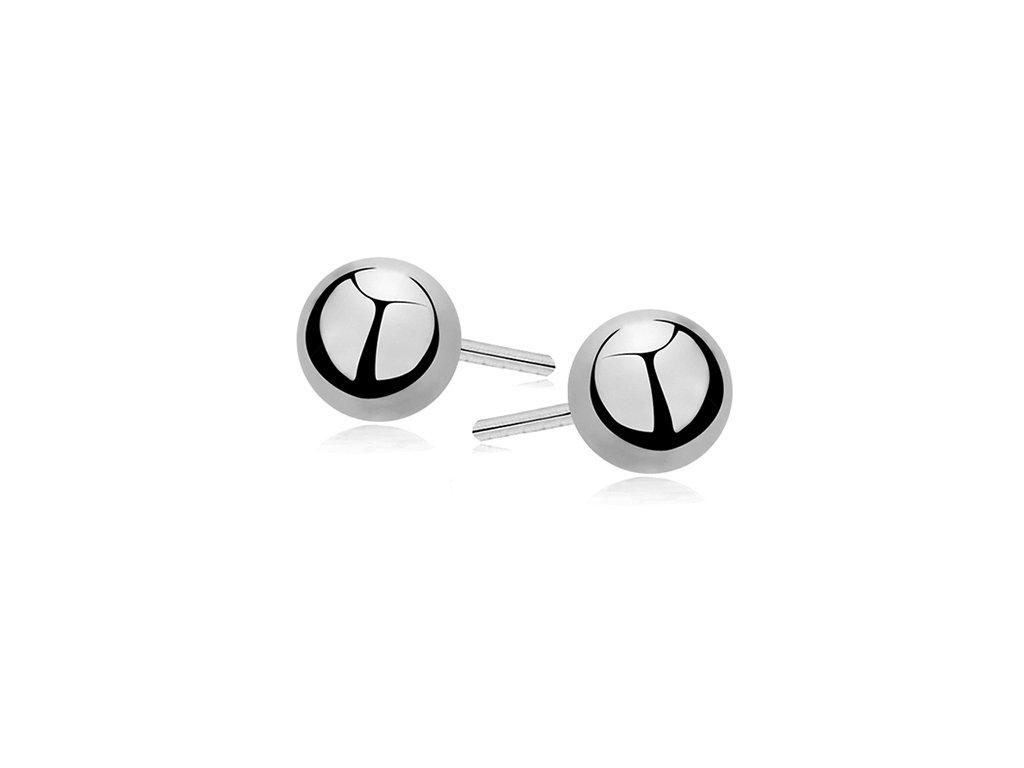 Stříbrné kuličky 4 mm