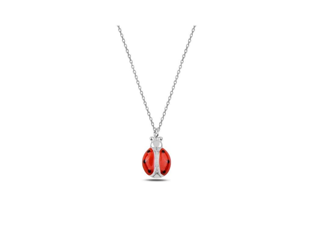 Stříbrný náhrdelník BERUŠKA