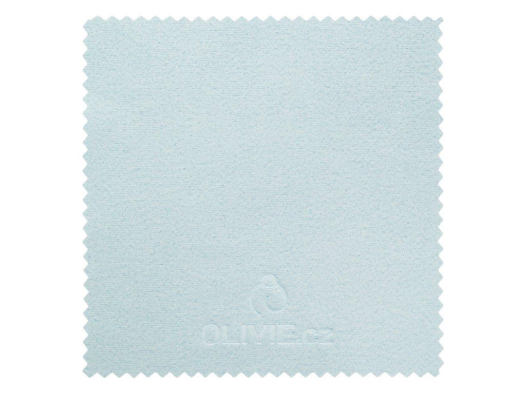Modrá čistící utěrka - hadřík na stříbro OLIVIE