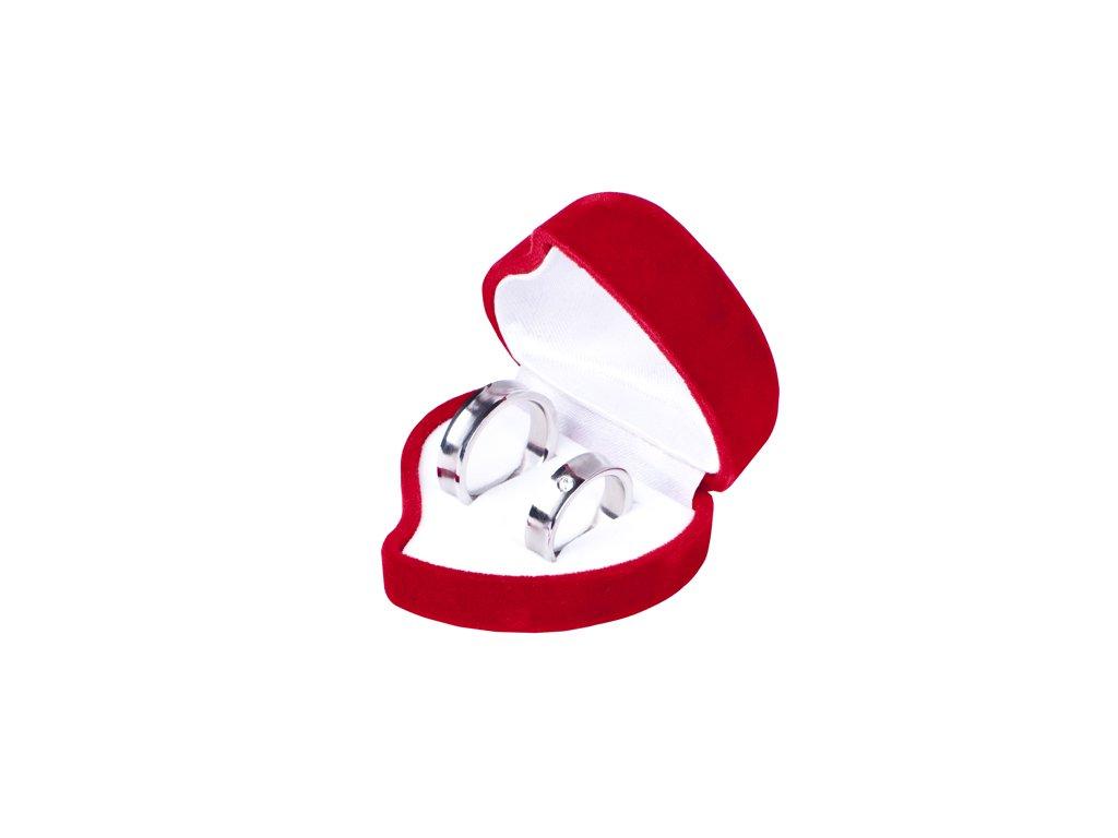 Dárková krabička na šperky srce