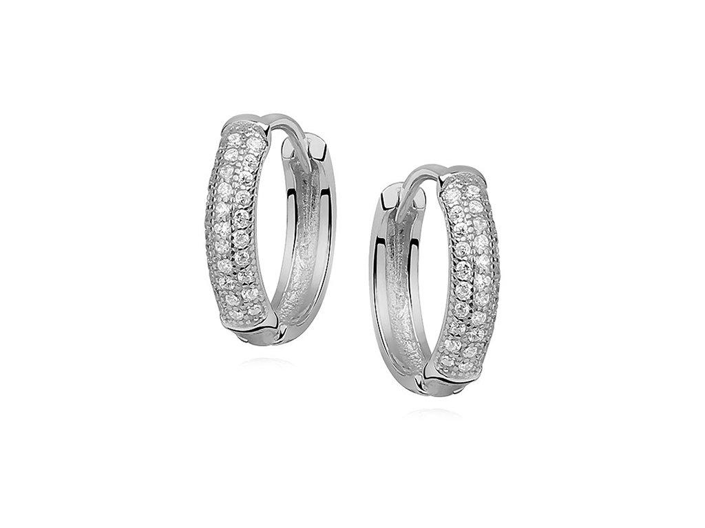 Stříbrné zirkonové kroužky od OLIVIE