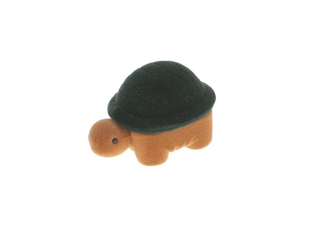 Dárková krabička na šperky želva