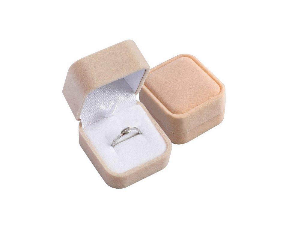 Sametová dárková krabička