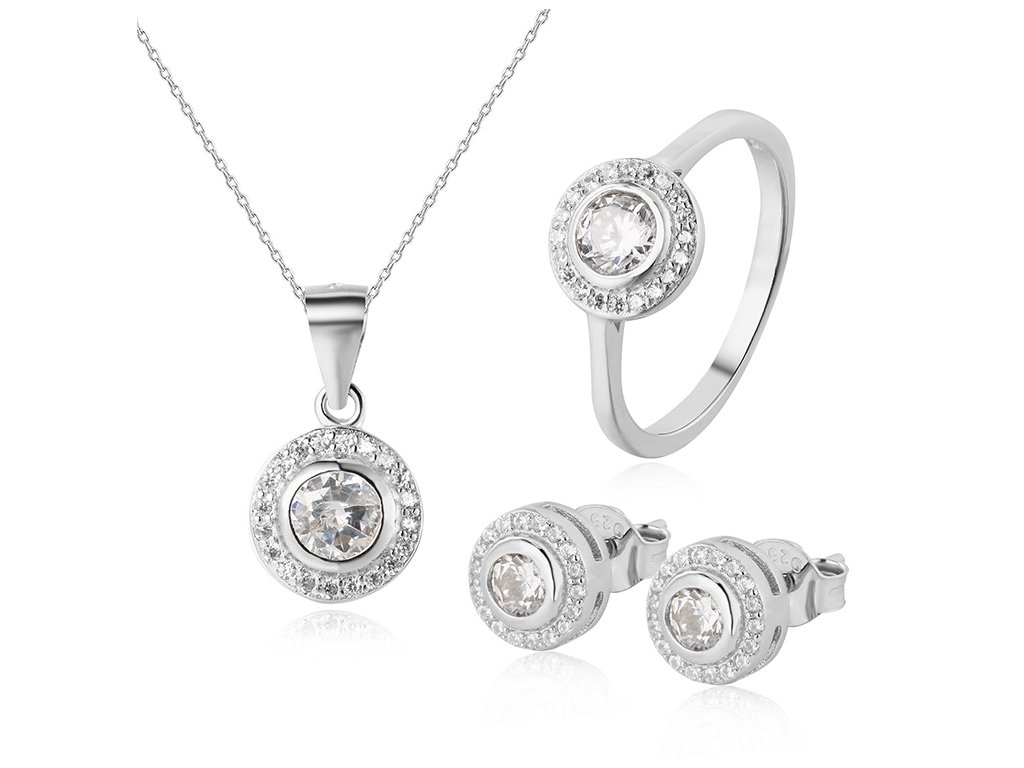 Stříbrná sada šperků od OLIVIE