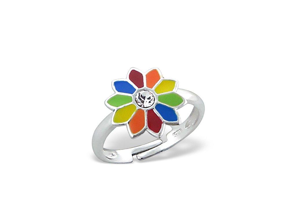 dětský stříbrný prstýnek pro děti