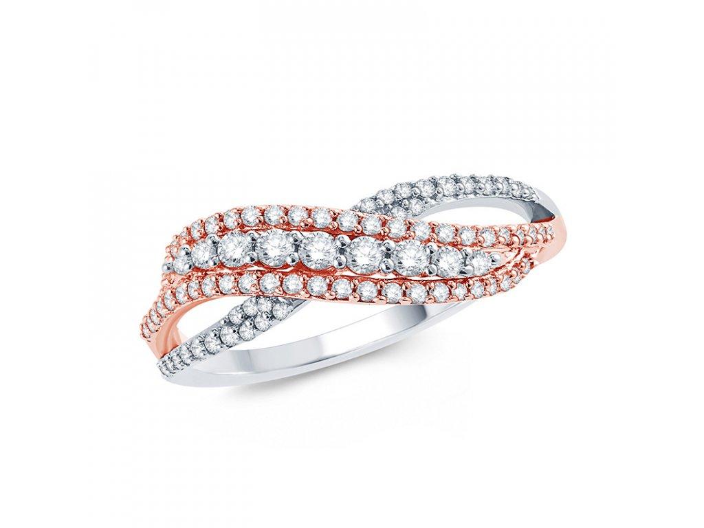 Luxusní stříbrný prsten BRILLANT od OLIVIE. Vhodný jako dárek z lásky pro ženu k výročí, Valentýnu, Vánocům nebo narozeninám.
