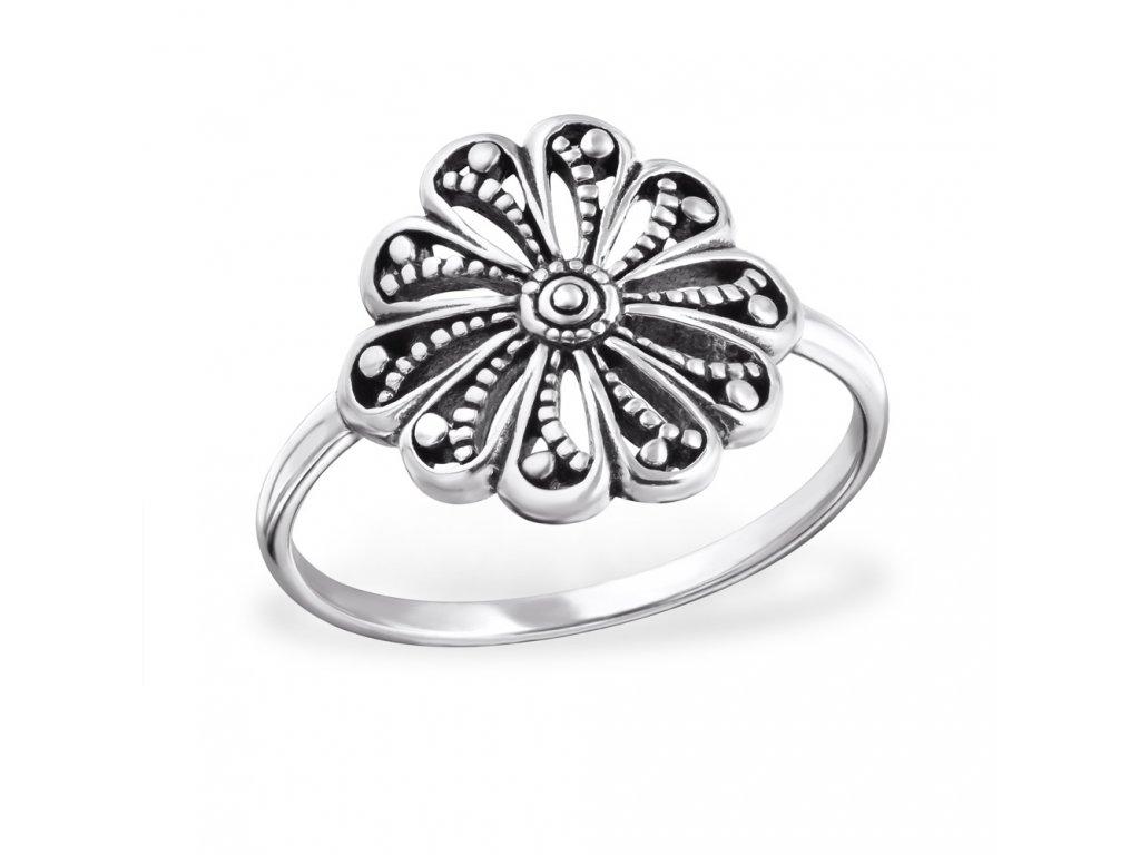 stříbrný prsten OLIVIE