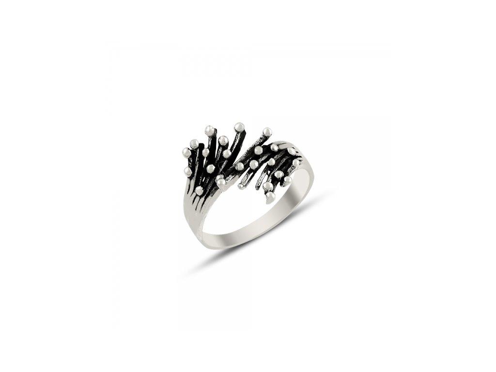 Stříbrný prsten FIONA