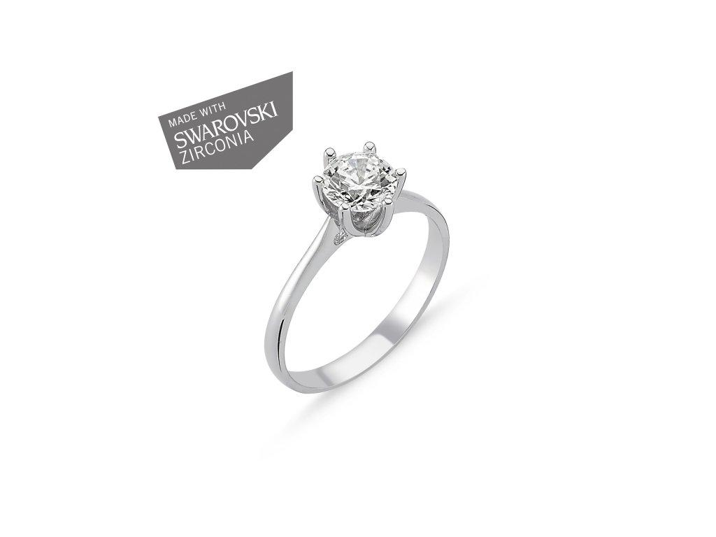 Stříbrný prsten EMMA