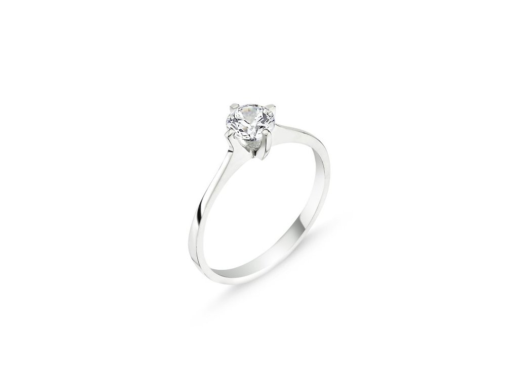 Stříbrný prsten GRETA
