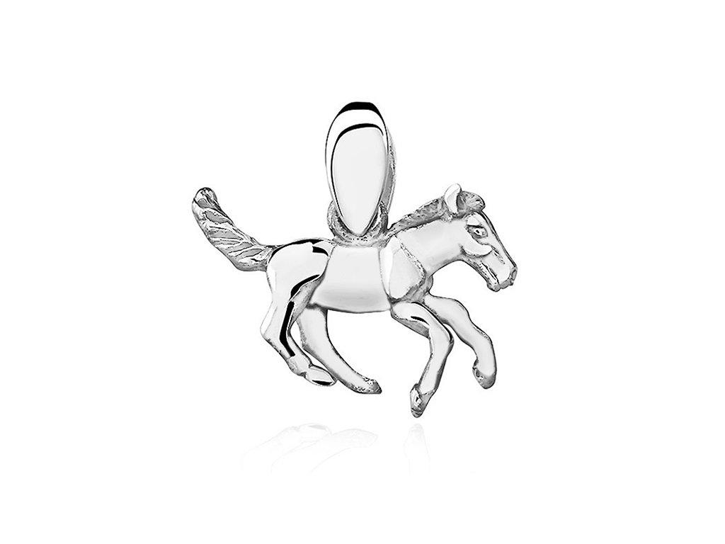 Stříbrný přívěsek KONÍK kůň
