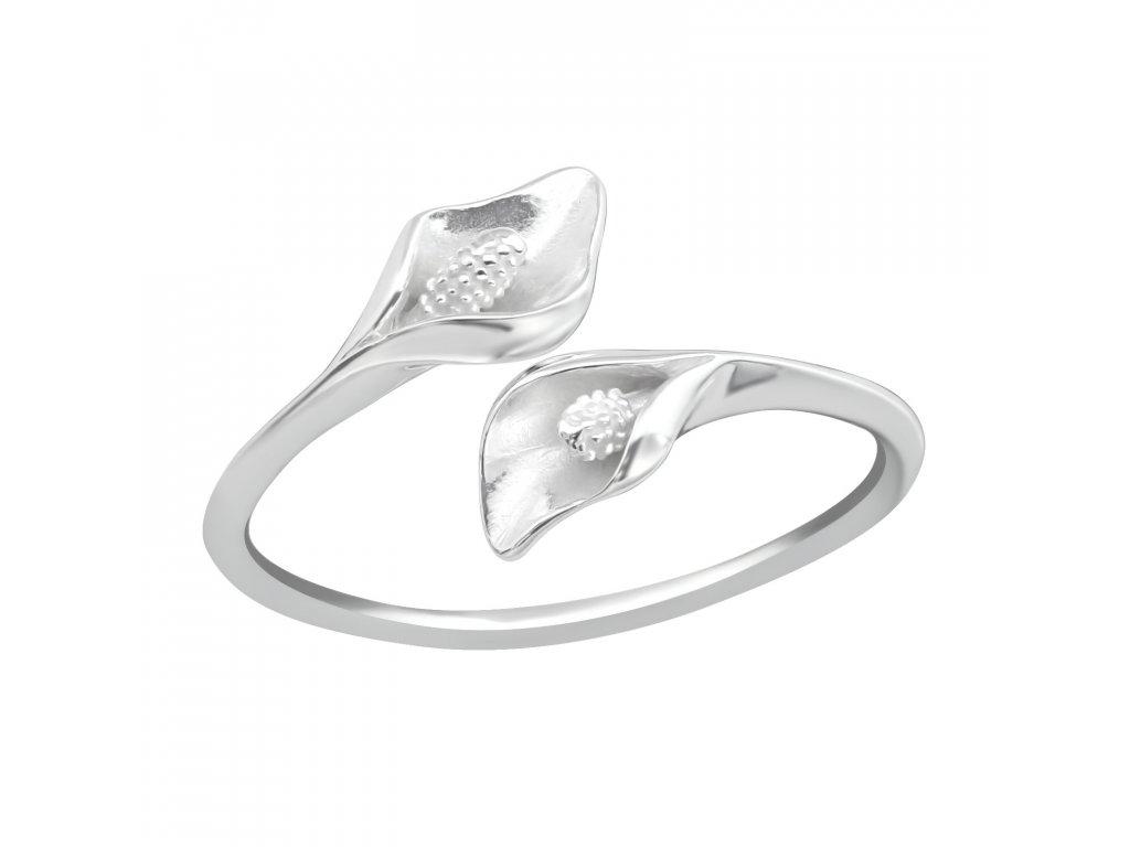 Stříbrný prsten KALA
