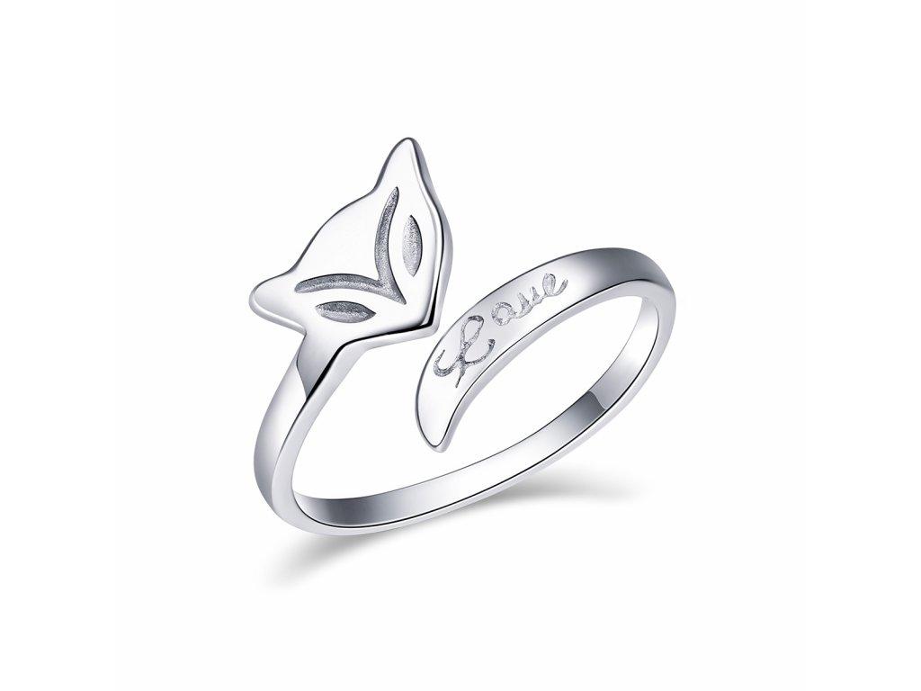 Stříbrný prsten LIŠKA