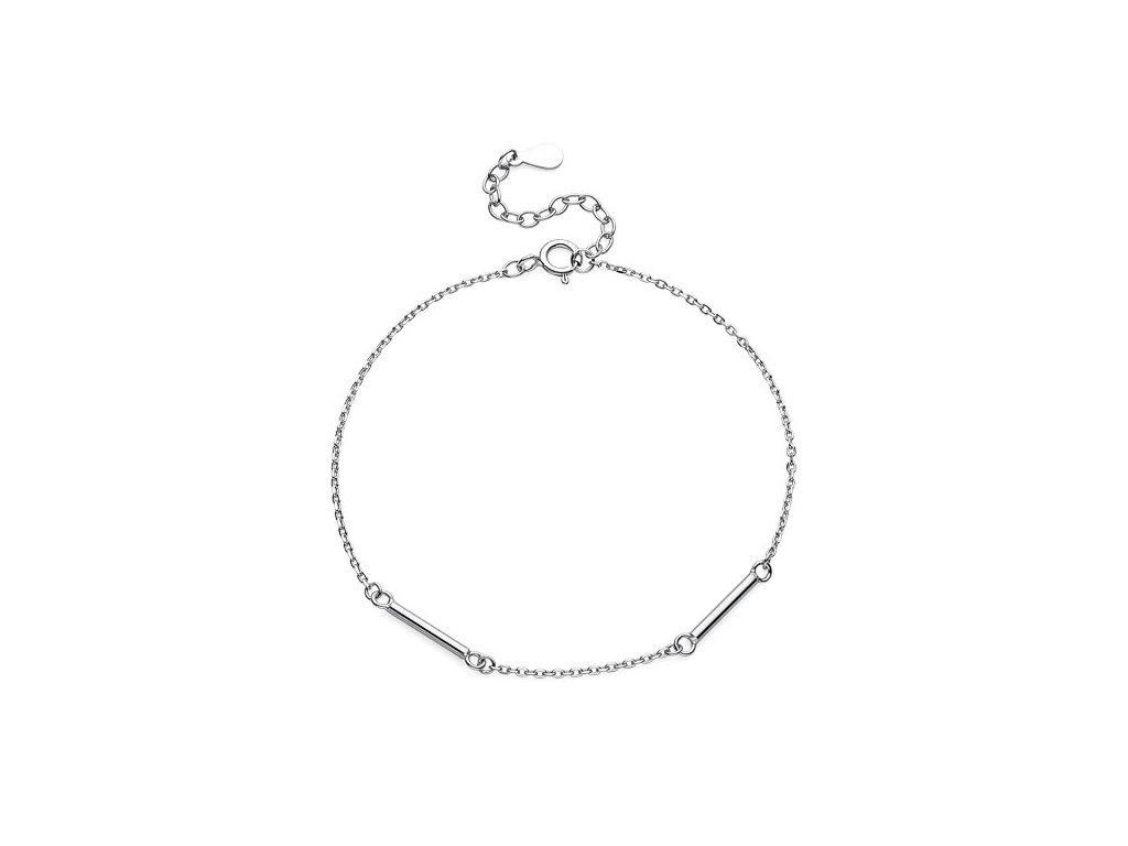 Stříbrný (925) náramek_olivie