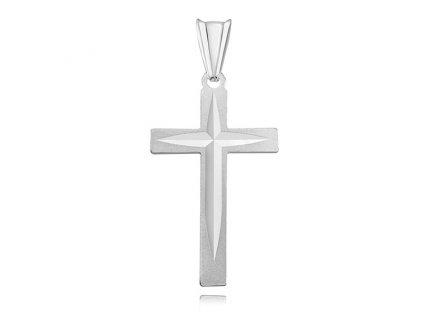 Stříbrný přívěsek KŘÍŽEK_olivie