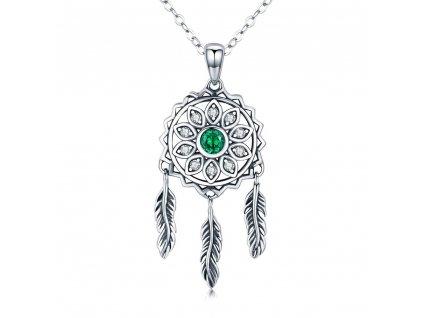 Stříbrný náhrdelník LAPAČ SNŮ