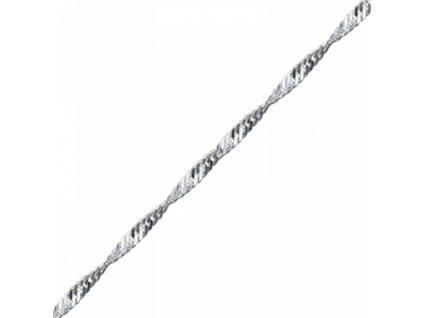 Stříbrný řetízek 55 cm TWIST