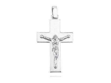 Stříbrný přívěsek KŘÍŽEK JEŽÍŠ