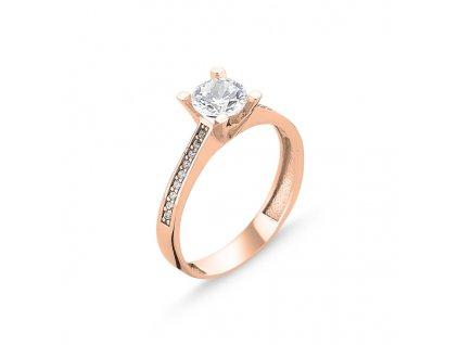Stříbrný prsten ROSE