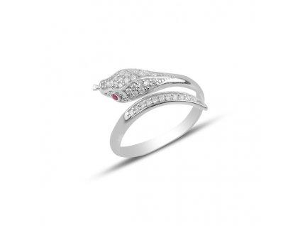 Stříbrný prsten HAD nastavitelná velikost