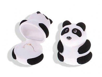 Dárková krabička na šperky PANDA