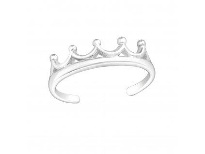Prsten stříbrný NA NOHU KORUNKA